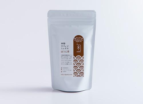 米粉マフィンミックス ほうじ茶